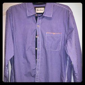 Men's Robert Graham oxford shirt size Large